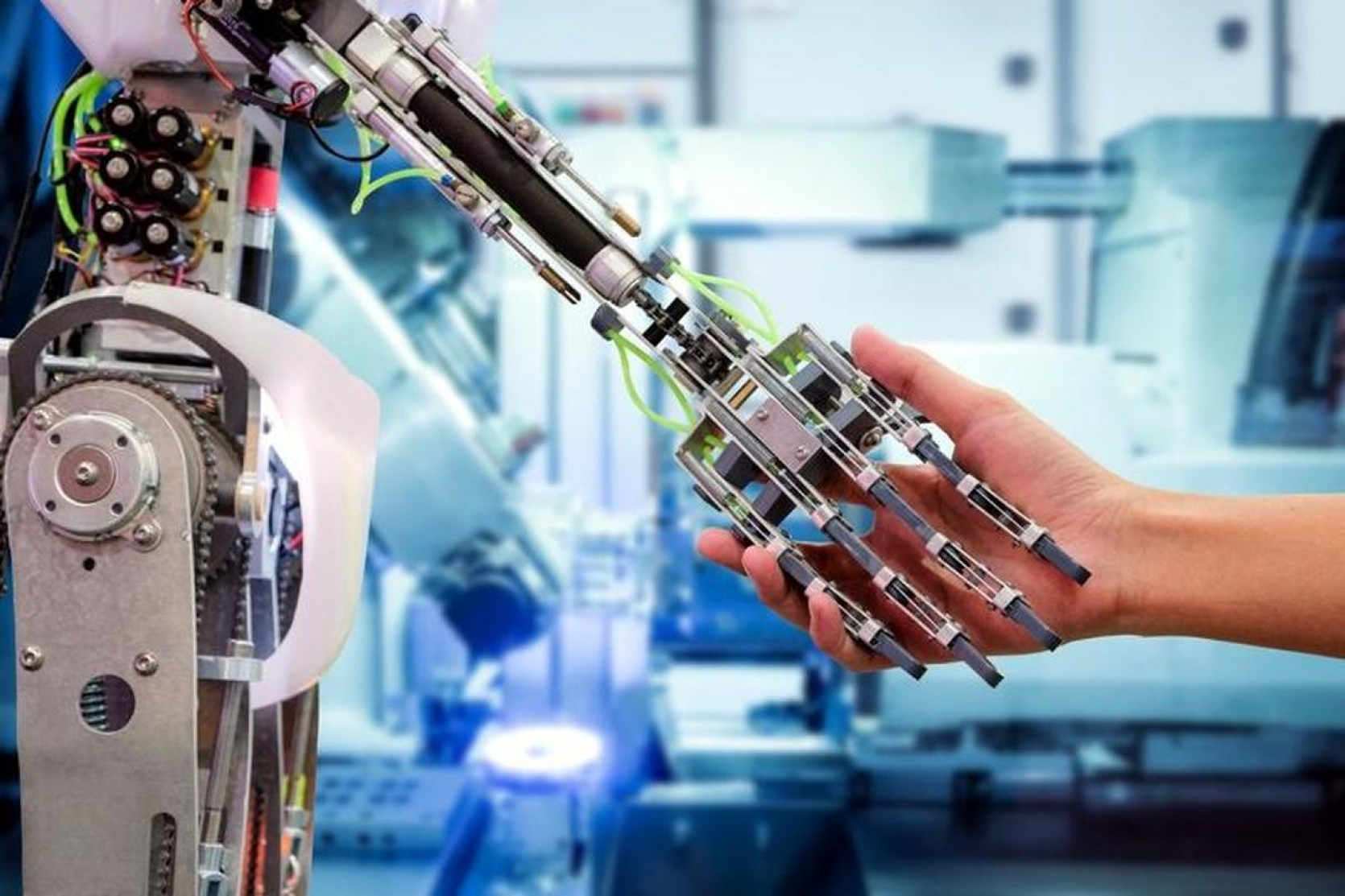 HOW ARTIFICIAL INTELLIGENCE IS REVOLUTIONIZING INDUSTRIAL PRODUCTION